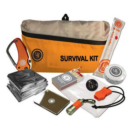 Ultimate Survival Technologies FeatherLite Survival Kit Orange 2.0 Md: 20-723-01