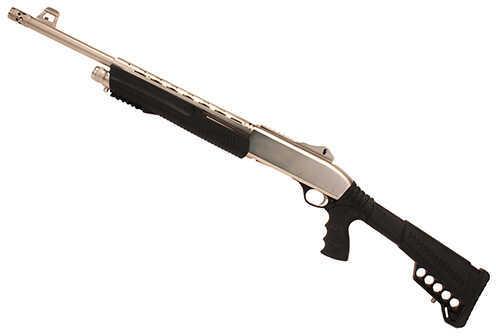 "Dickinson Arms Commando XX3D 12 Gauge Shotgun 18.5""Barrel Marine Tactical Pump Ghost Ring"