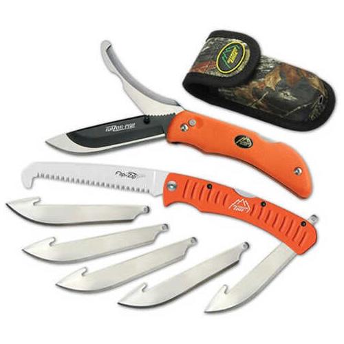 Outdoor Edge Cutlery Corp Razor-Pro/Saw Combo (Orange) Clam Pack Md: ROC-30C