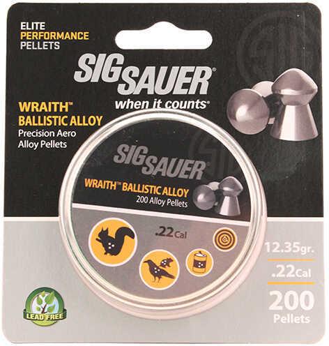 Sig Sauer Pellet.22 Cal Wraith Ballistic Alloy Non-Lead 200Ct
