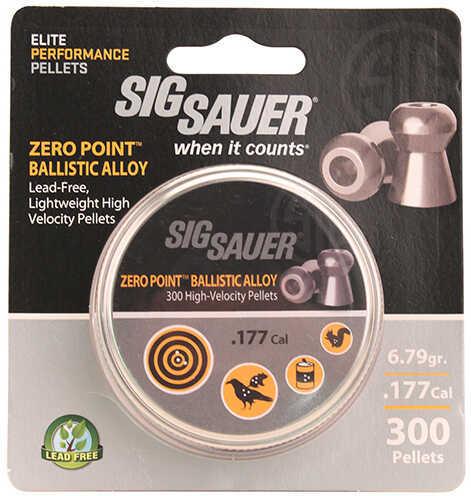 Sig Sauer Pellet.177 Cal. Zero Point Ballistic Alloy 300 Ct