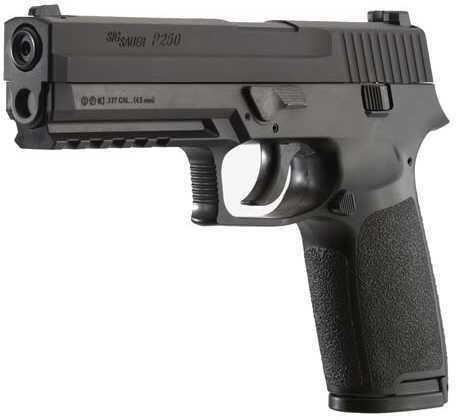 Sig Sauer P250 .177 Caliber, CO2, 16-Round Pellet Pistol, Black Md: AIR-P250F-177-12G-16-BLK
