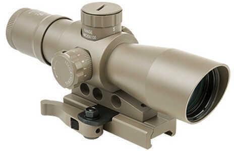 NcStar Mark III Tactical 3-9x42mm Gen 2 Mil-Dot Scope, Tan