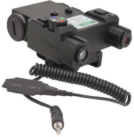 NcStar Green Laser 4X Led Navigation Light Box/Quick Release Mount Black Md: VLG4NVQrB