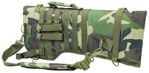 NcStar Tactical Rifle Scabbard Woodland Camo Md: CVRSCB2919Wc