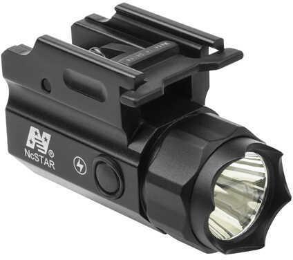 NcStar Pistol & Rifle 33W 150 Lumen LED Flashlight QR With Strobe, Black