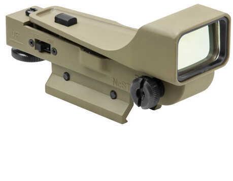 NcStar Aluminum Dot Sight/Red/Gen II Tan Md: DPTV2