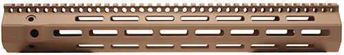Troy Industries 308 M-Lok Aluminum Rail 15 Inches, Flat Dark Earth Md: SRAI-ML3-5HFT-00