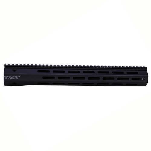 """Troy Industries M-LOK 5.56mm, Carbon Fiber 15"""", Black Md: SRAI-MC1-15BT-00"""