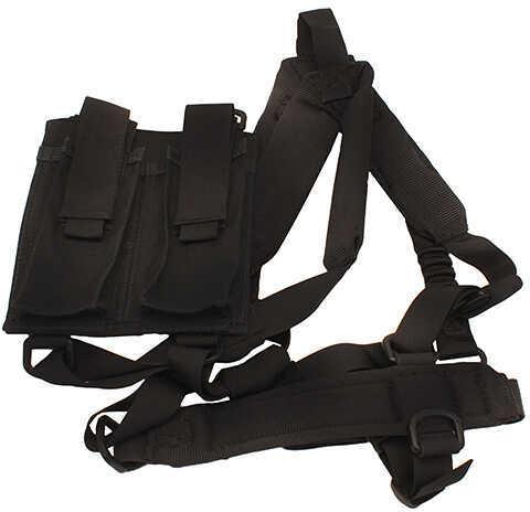 Troy Industries PDW Shoulder Harness Sling Black Md: SSLI-PSH-00BT-00