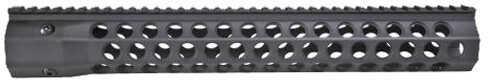 """Troy Industries Alpha Revo Rail, .308 DPMS HP 15"""", Matte Black Md: STRX-AC3-5HBT-00"""