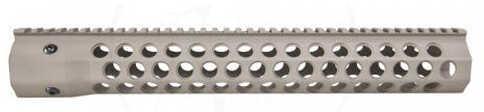 """Troy Industries Alpha Revo Rail, .308 DPMS HP 15"""", Matte Flat Dark Earth Md: STRX-AC3-5HFT-00"""