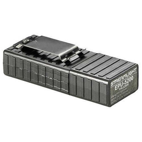 Streamlight EPU 5200 Portable USB Charger 5,200 mAh Black with Integrated LED Flashlight Md: 22600