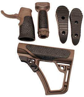Daniel Defense Buttstock, Pistol Grip, & Vertical Foregrip Combo, MIL SPEC+
