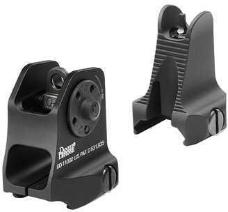 Daniel Defense Fixed Front/Rear Sight Combo, Black