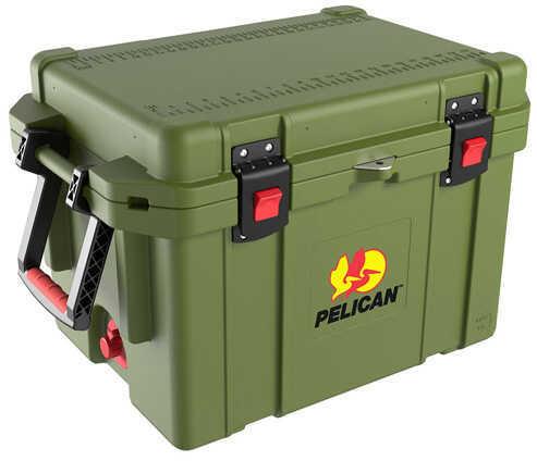 Pelican 45 Quart Elite Cooler Oilve Drab Md: 32-45Q-CC-OD