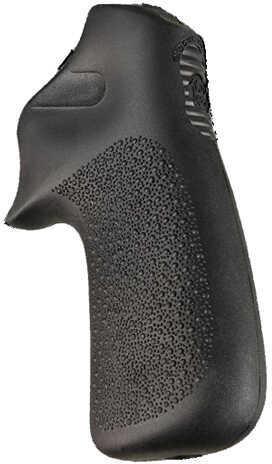 Hogue Ruger LCR Grip Tamer, Rubber No Finger Grooves, Black Md: 78030