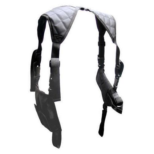 Leapers, Inc. UTG Horizontal Shoulder Holster, Black Md: Pvc-H170B