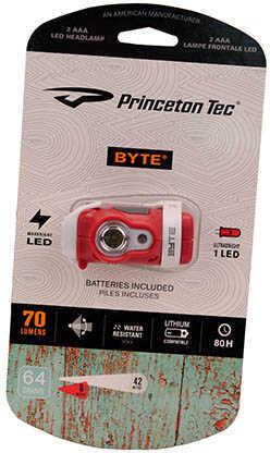 Princeton Tec Byte Red Md: BYT70-Rd