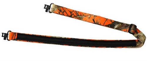 "Grovtec USA Inc. GrovTec US Mountaineer Sling 48""X1"", True Timber Hunter Orange Md: GTSL63"