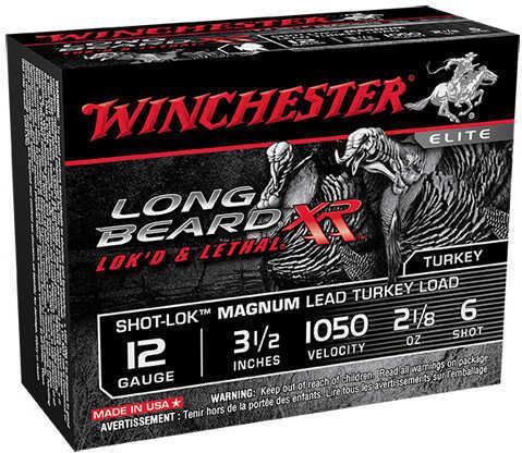 """Winchester 12 Gauge 3.5"""" 2 1/8oz 1050 Fps 6 Shot Md: STLB12LM6"""