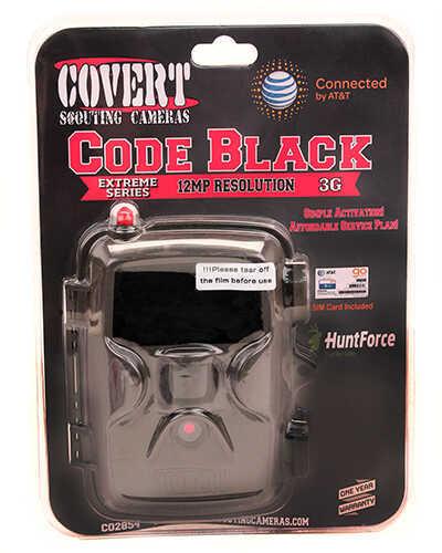 Covert Scouting Cameras Code Black ATT (Solid), Brown, 60 IR, SIM Md: 2854
