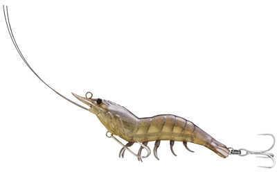 LIVETARGET Lures / Koppers Fishing and Tackle Corp Shrimp Hybrid Bait Sand Shrimp #8/#6 Md: Ssh90Sk910