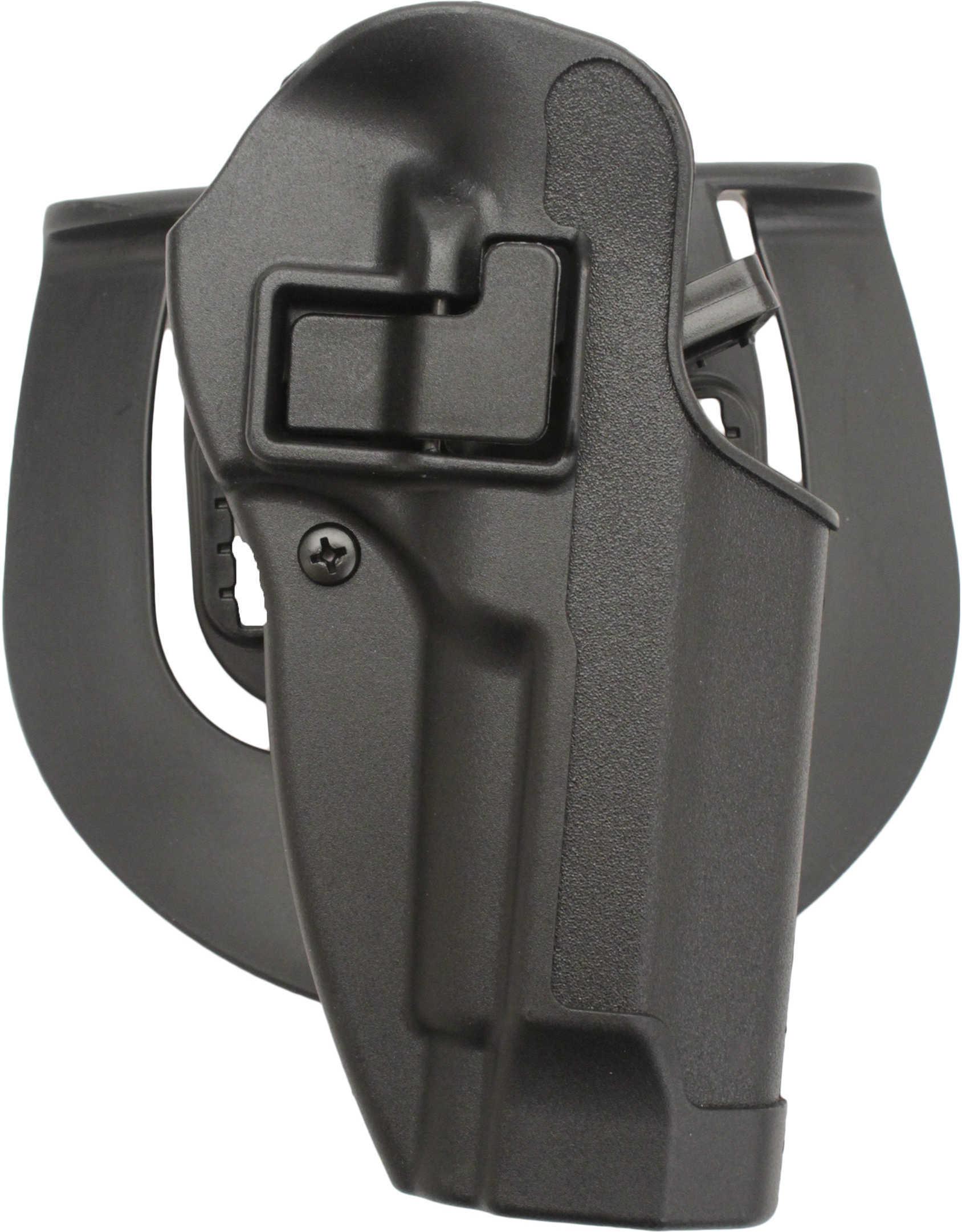 Blackhawk CQC Serpa Belt Holster Right Hand Black Ber 92/96 (Not Elite/Brig) Carbon Fiber Belt Loop And Paddle 410504Bk-