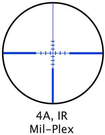 Barska Optics Scope 3-9X40MM Contour 4A Mil Plex Blue ILLUM AC11326
