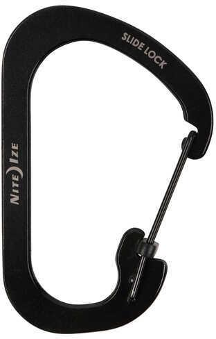 Nite Ize SlideLock Carabiner #4, Black Md: CSL4-01-R6