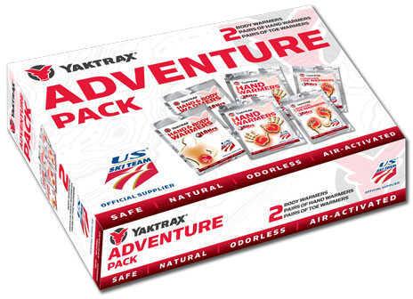Yaktrax Adventure Pack (2 Pair Each Hand, Toe, Body) Md: 07312