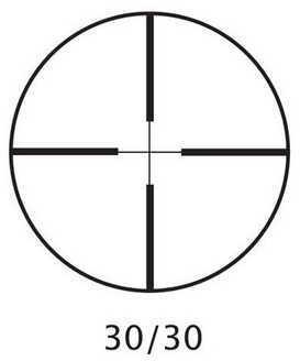 "Barska Optics Huntmaster Riflescope 3-9x40mm, 1"", 30/30 Reticle AC10030"