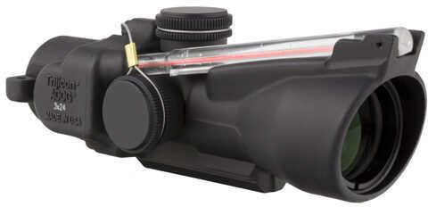 Trijicon ACOG 3x24 Compact ACOG Left Hand, Dual Illuminated Red Crosshair Md: Ta50-C-400229