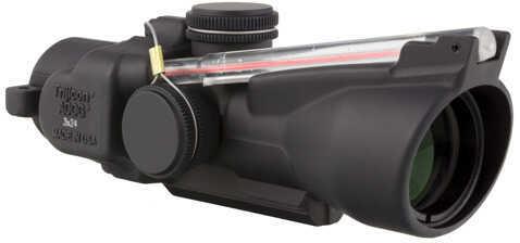 Trijicon ACOG 3X24 Compact ACOG Left Hand, Dual Illuminated Red Crosshair Md: Ta50-C-400235