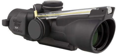 Trijicon ACOG 3X24 Compact ACOG Left Hand, Dual Illuminated Amber Horseshoe Md: Ta50-C-400239
