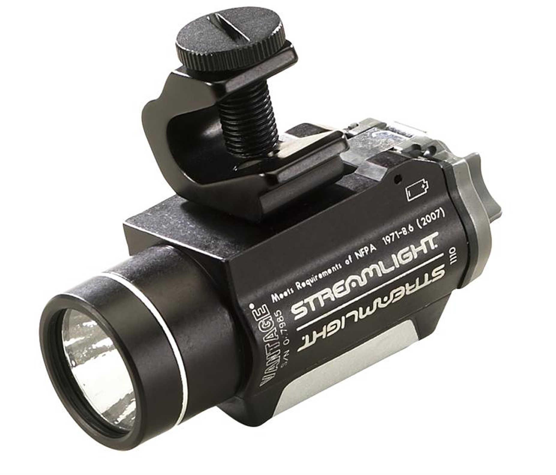 Streamlight Vantage Helmet Mounted Flashlight Flashlight C4 Led 115 Lumens Black 69140