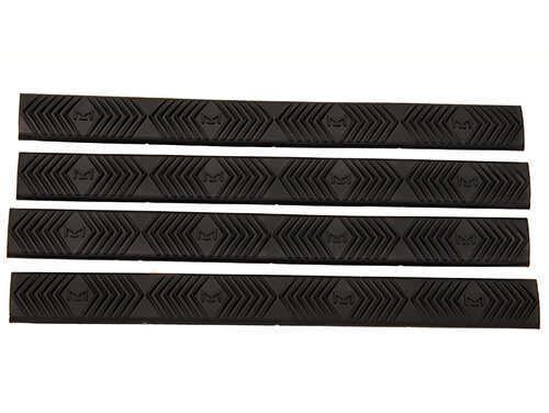 Ergo M-LOK WedgeLoK Slot Cover Grip, Black, Pack Of 4 Md: 4332-4PK-BK