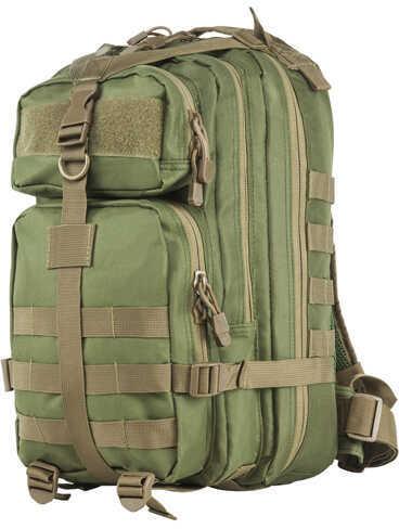 NcStar Small Backpack Green w/Tan Trim Md: CBSGT2949