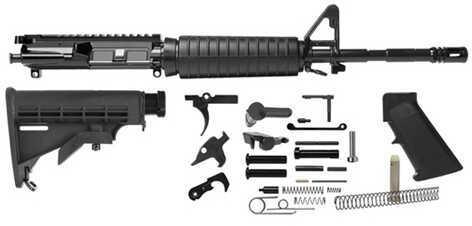 "Del-Ton 16"" M4 Rifle Kit M-Lok Furniture Black Md: RKT100-MLOK"