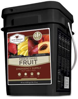 Wise Foods Gluten Free Freeze Dried Fruit 152 Servings Md: WGF40-50156