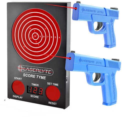 LaserLyte Scoretyme Versus Kit: Scoretymet Target, 2 Pistols, SC Md: TLB-LVS