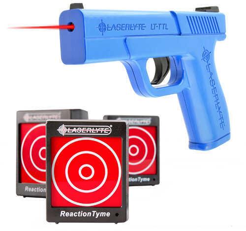 LaserLyte Laser Triple Tyme Kit: Pistol & 3 Reaction Time Targets Md: TLB-LTK
