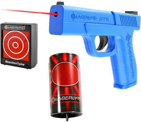 LaserLyte Laser Combo Kit: 1 Can, 1 Reaction Time Target, Laser Pistol Md: TLB-LCR