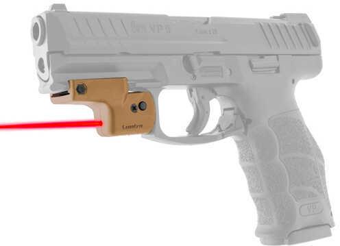 LaserLyte Lyte Ryder: Fits All Pistols w/Rails, Tan Md: UTA-FSLT