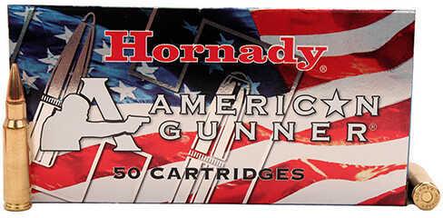 Hornady 6.8mm, 110 Grain Boat Tail Hollow Point, American Gunner Ammunition, 50 Rounds Per Box