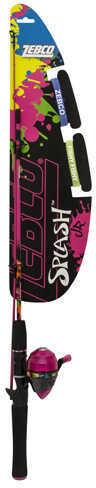 Zebco / Quantum Splash Junior 402 Spincast Combo Girls, Pink Md: YSPLSCJPK,06,FB6