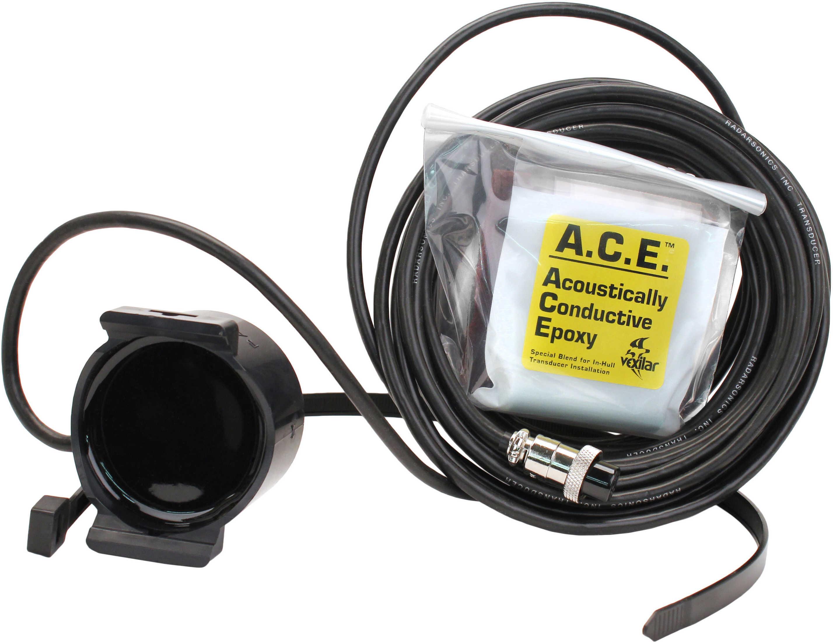 Vexilar Inc. 12° Puck Transducer (all FL units)-25' TB0087