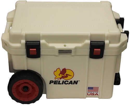 Pelican Elite Wheeled Coolers 45 Quart, White Md: 32-45QW-MC-WHT