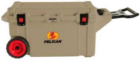 Pelican Elite Wheeled Coolers 80 Quart, Tan Md: 32-80Q-OC-TAN
