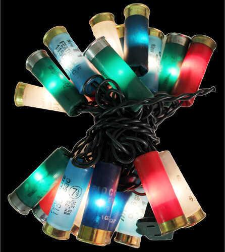 River's Edge Decorative Led Party Lights - Shot Shell Shot Shell 8', 20Pc.